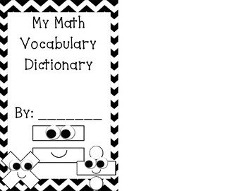 Student Math Dictionary