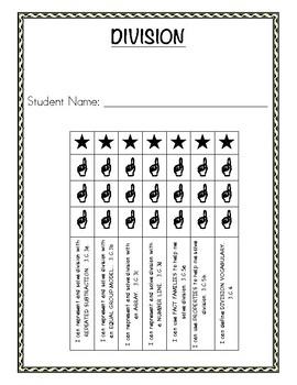 Student Math Skill Mastery Trackers