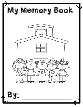 Student Memory and Reflection Book - Monthly Pages