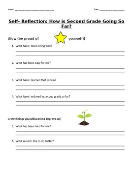 Student Mid-Year Self- Reflection