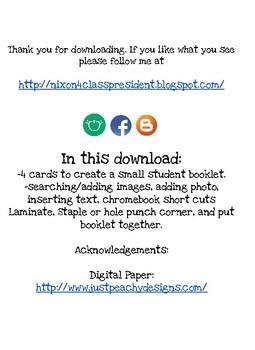 "Student Mini Booklet: ""How-to..."" Google slides"