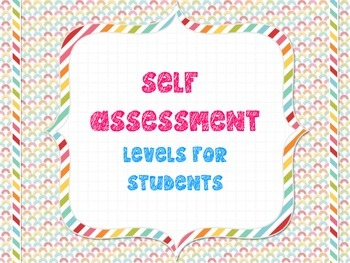 Student Monitoring of Learning Targets
