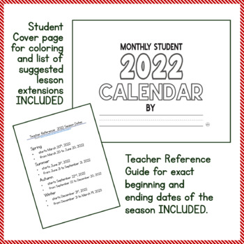Calendar SY 2016-17 Differentiated DIY Student Calendar - 4 Sets for PK-2, SPED