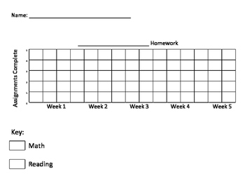 Student Monthly Homework Tracker