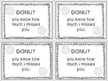 Student Motivation: Donut You Know How Much I've Missed You