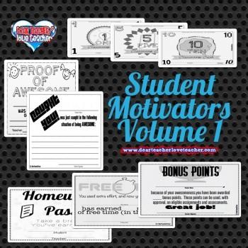 Student Motivators Volume 1