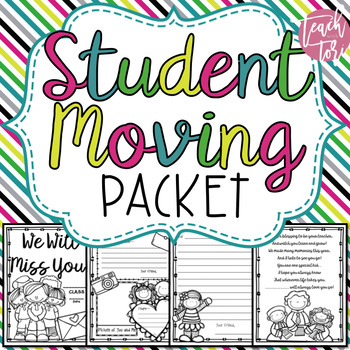 Student Moving Packet