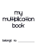 Student Multiplication Book to Meet Common Core Standards