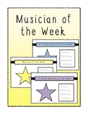Student Musician of the Week