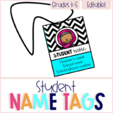 Student Name Cards - Editable