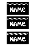 Student Name Labels