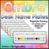 Student Name Plates/Desk Tags