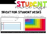 Student Name Tags (Editable)