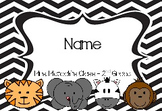 Student Name Tags - Editable