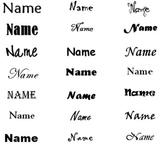 Student Name Template