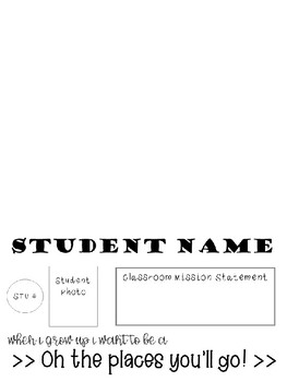 Student Name Tent