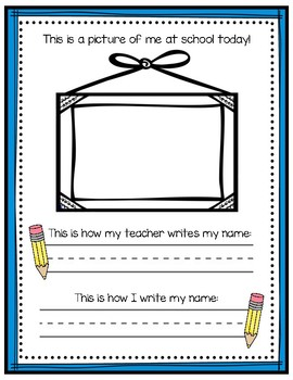 Student Name Writing Practice
