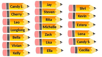 Student Names Display