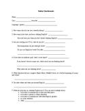 Student Needs Analysis Survey