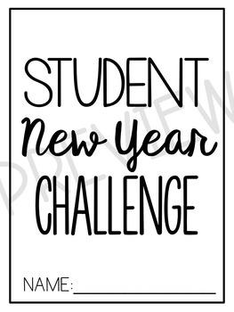 Student New Year Challenge