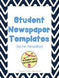 Student Newspaper Templates