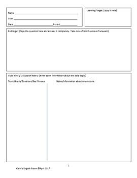 Room Assignment Template from ecdn.teacherspayteachers.com