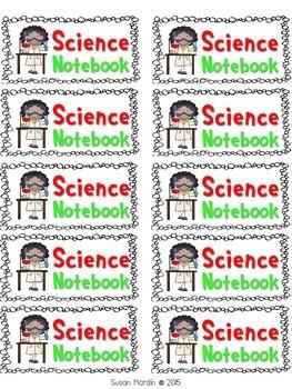 "Student Notebook / Folder Labels (size 2"" x 4"")"