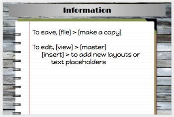 Student Notebook Master   Editable Digital Google Slides