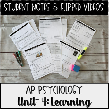 Student Notes & Flipped Videos: Learning AP Psychology