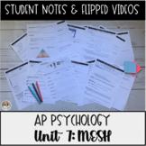 AP Psychology Unit 7 Motivation, Emotion, Stress & Persona