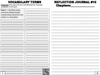 Novel Reflective Journal