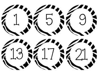 Student Number Circles