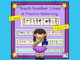 Number Lines Helps Renforce Patterns During Guided Reading and Math Groups