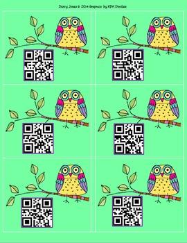 Student Number QR Codes - Qwls