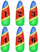 Student Numbers-Beach Themed