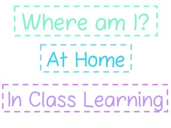 "Student Numbers for ""Where am I?"" Magnetic Board- Two Color Options"