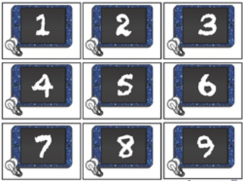 Student Numbers or Calendar Numbers