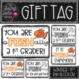 "Student O-""FISH""-ally Gift Tags"