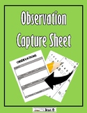Student Observation Capture Sheet