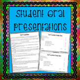 Student Oral Presentations: A Creative and Fun Project