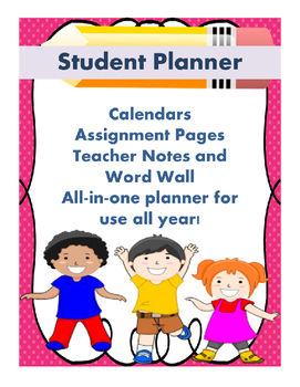 Student Planner Improves Communication and Organization