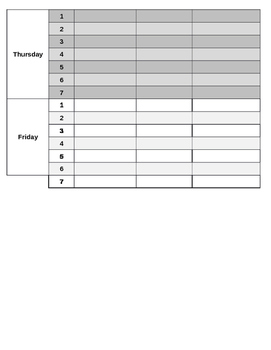 Student Organization Checklist - Vertical
