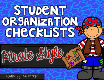 Pirate Organization Checklists