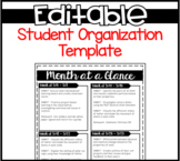 Student Organization (Completely Editable)