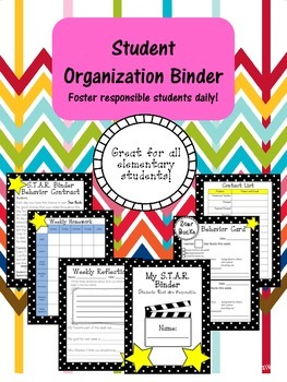 Student Organization Daily Binder