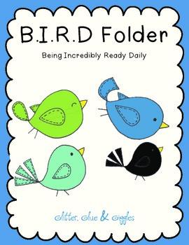 Student Organization Folder {B.I.R.D}