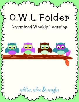 Student Organization Folder {O.W.L}