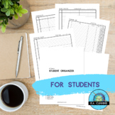 Student Organizer (High Contrast)