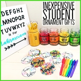 Student Ornament Gift Tag