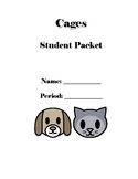 "Student Packet & Projects for the Novel ""Cages"" By Peg Kehret"